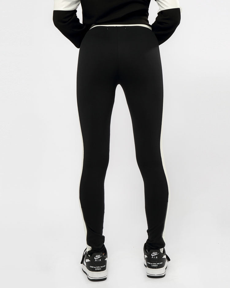 WOMEN MAZE LEGGINGS-COLOR: BLACK