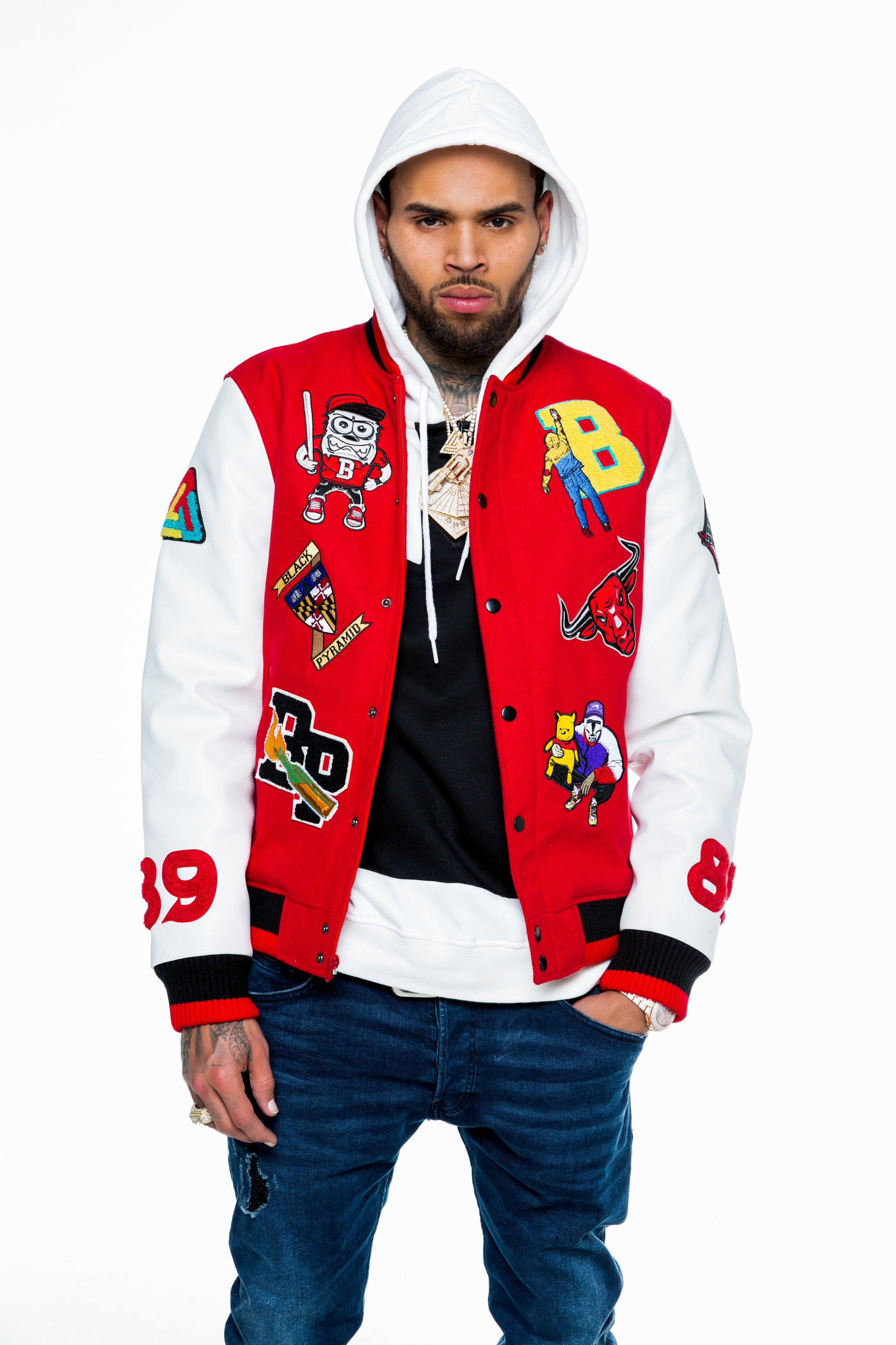 Chris brown black pyramid clothing online store