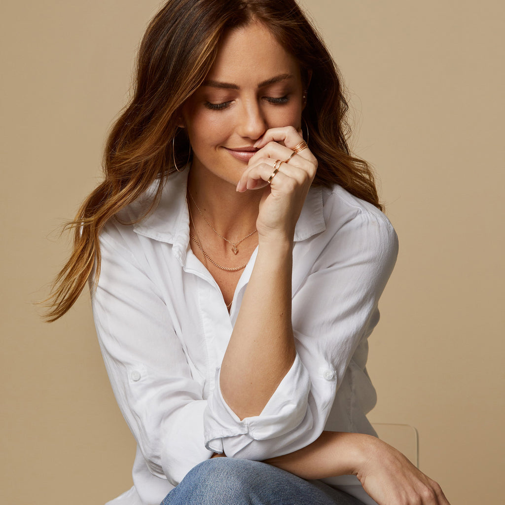 Minka Kelly on her ABLE x Minka collaboration