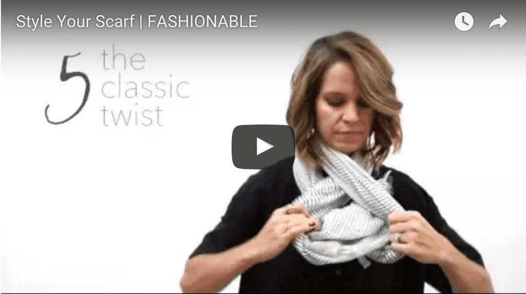 Style Your Scarf Video