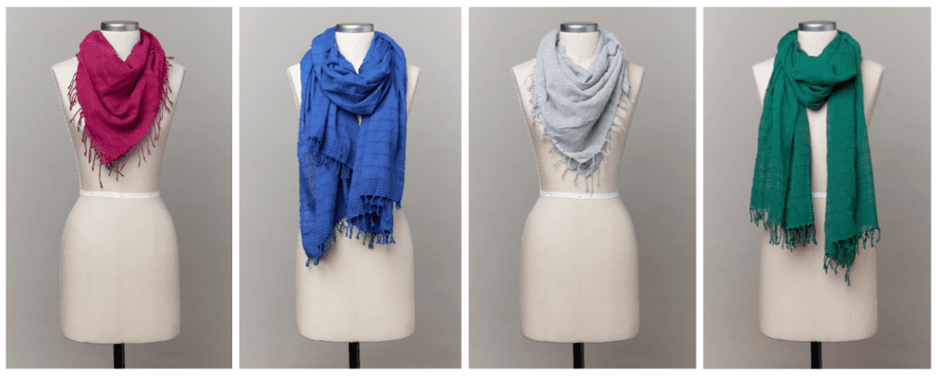 Fall Scarf Color Stories