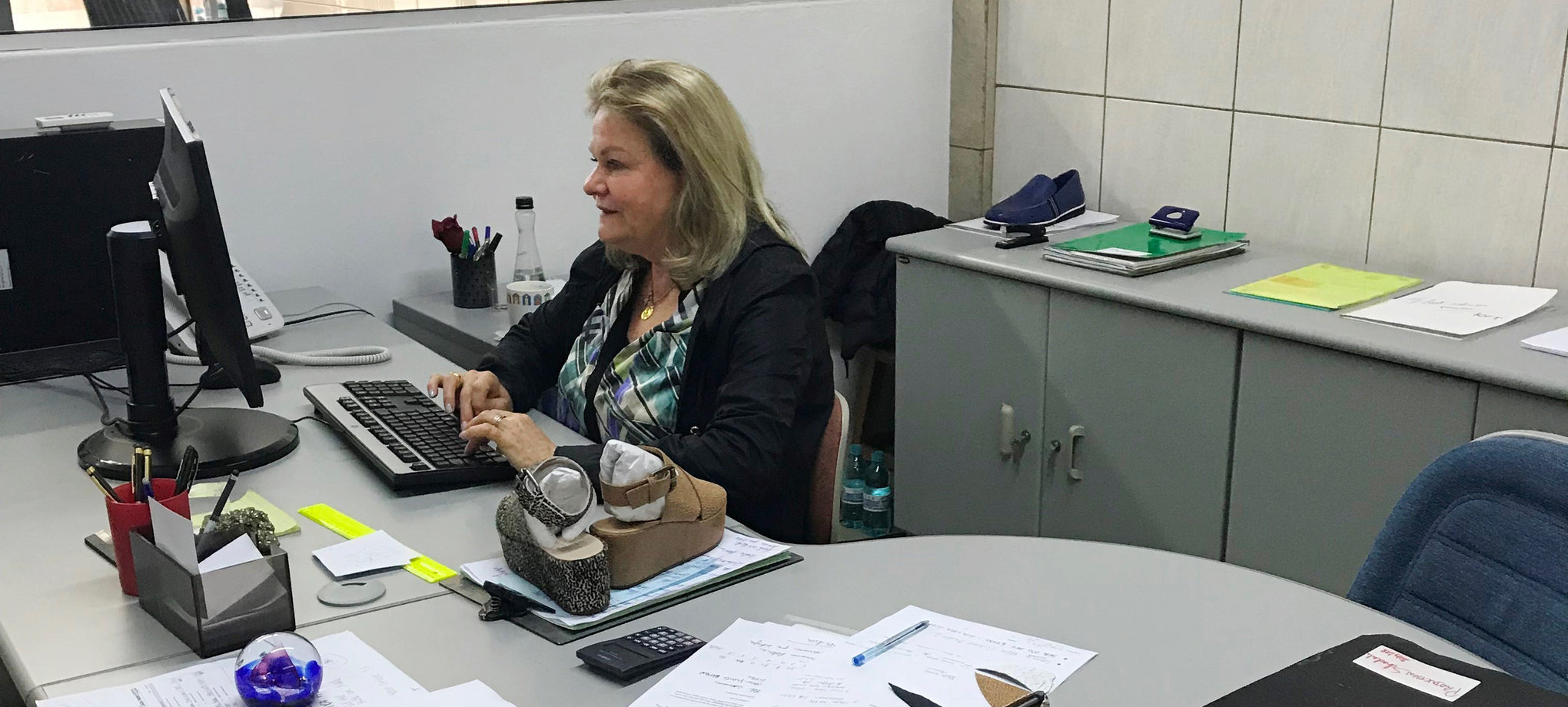 Meet Suzana from our Brazil Shoe Factory