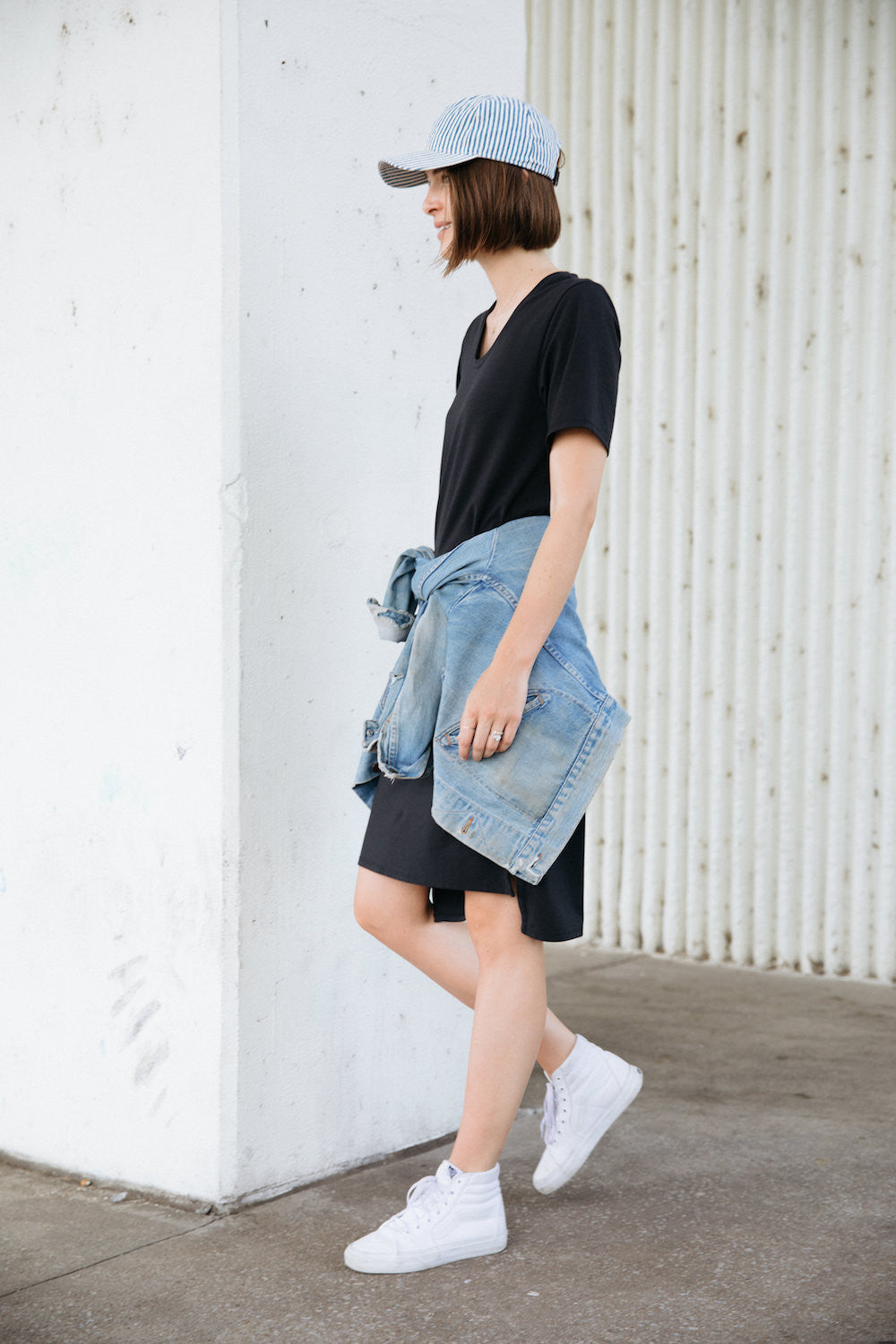 713999a647 Maegan went sporty with the t-shirt dress