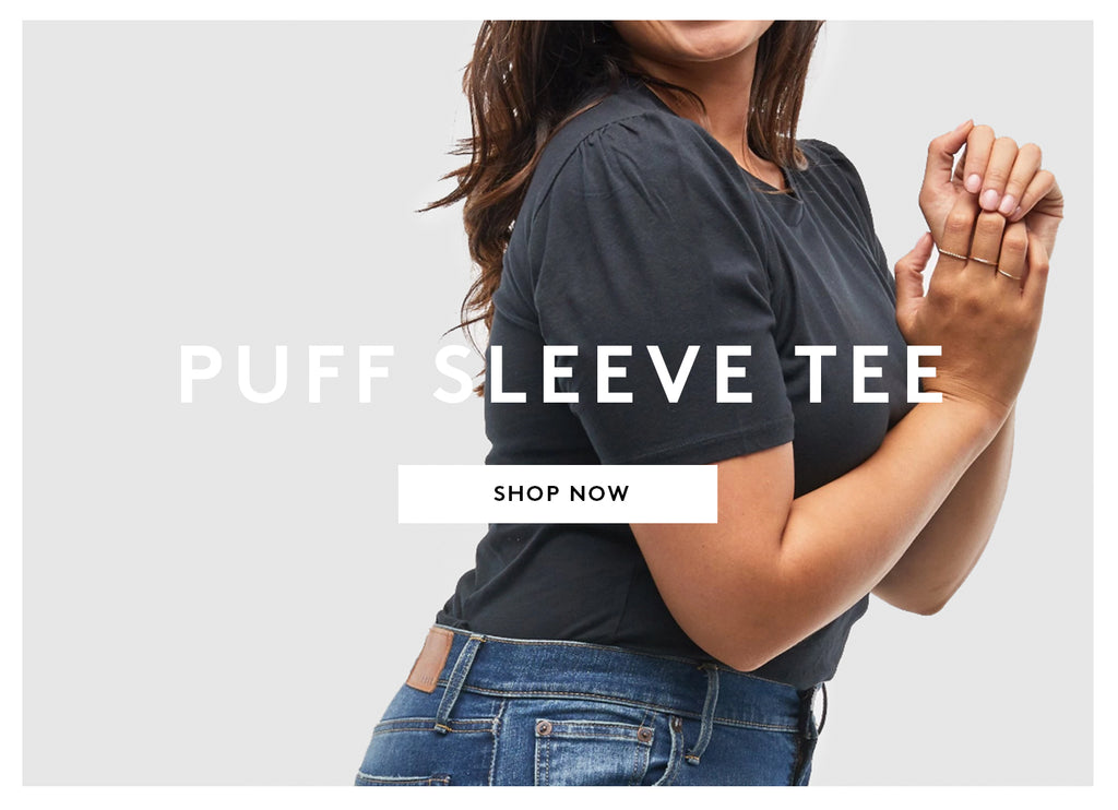PUFF SLEEVE TEE - SHOP NOW