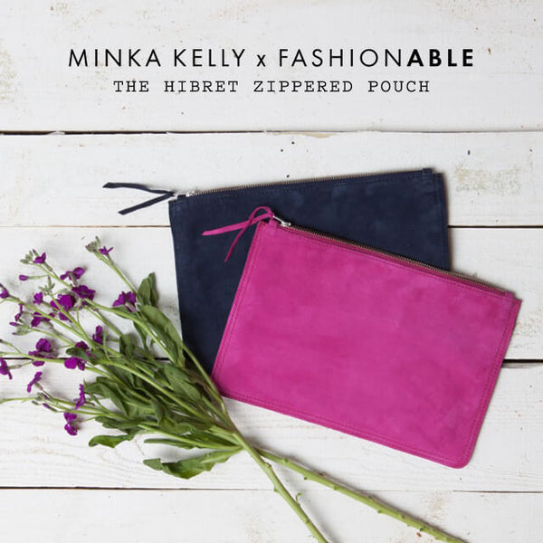 Minka Kelly - Hibret Pouch FASHIONABLE