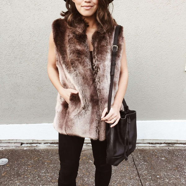 Faux Fur Trend - FASHIONABLE