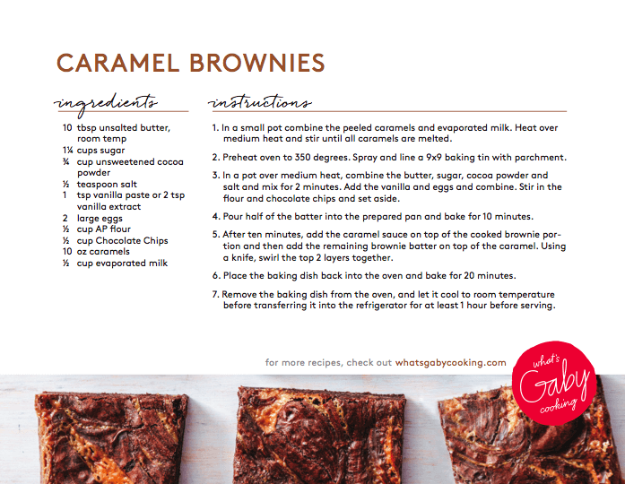 Brownie Recipe - FASHIONABLE