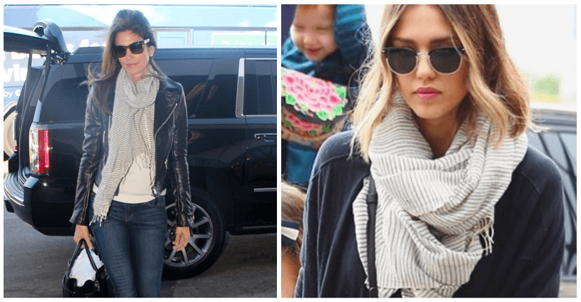 Jessica Alba and Cindy Crawford wear FASHIONABLE