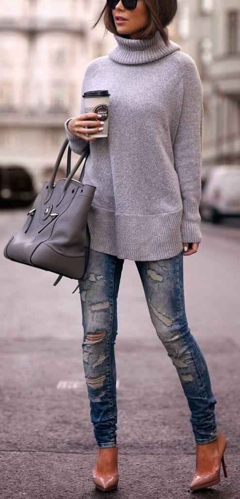 Winter Trends Turtle Neck - FASHIONABLE
