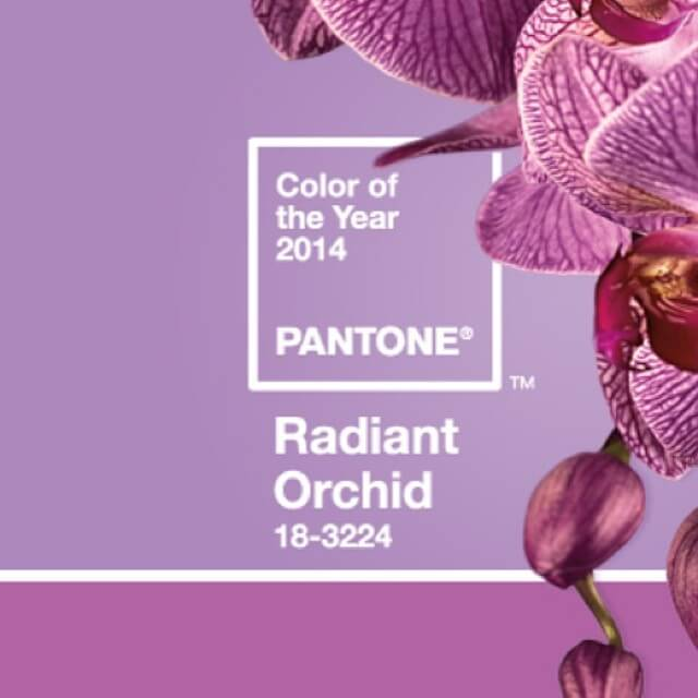 Radiant Orchid -- Pantone Color of the Year 2014