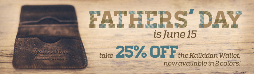 Fathers Day Wallet Sale | fashionABLE