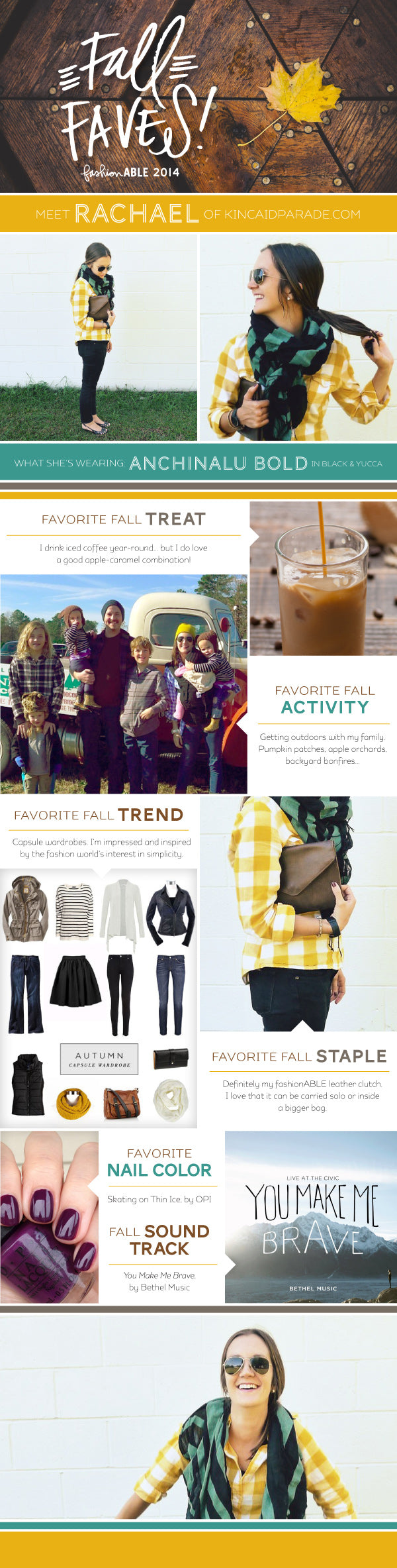 fashionABLE Fall Faves: Rachael | livefashionABLE.com