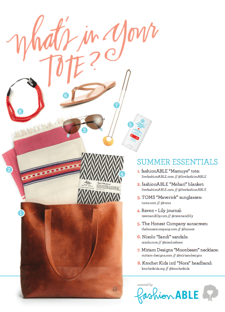 socially conscious summer essentials | curated by fashionABLE