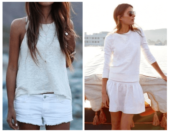 fashionABLE: summer trends: white on white