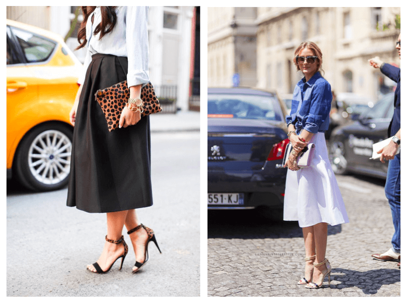 midi skirts | livefashionABLE.com summer trends