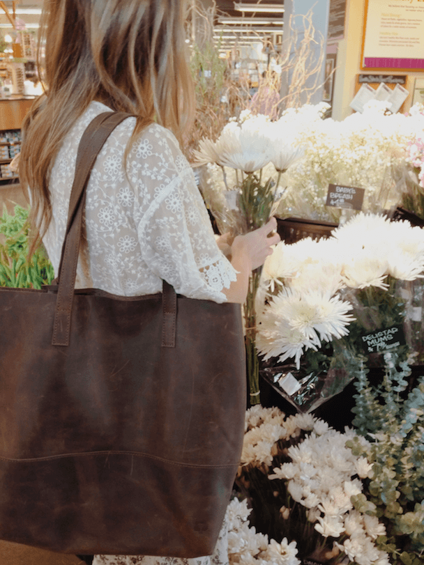 Chocolate Brown | Mamuye Tote | livefashionABLE.com