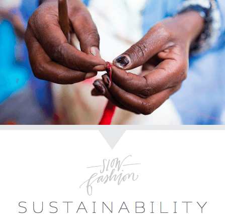 Slow Fashion: sustainability | livefashionABLE.com