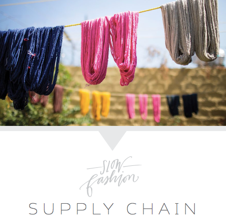 Slow Fashion: Supply Chain | livefashionABLE.com