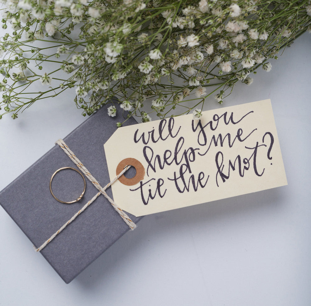 FASHIONABLE Weddings:Creative Ways to Ask Your Bridesmaids