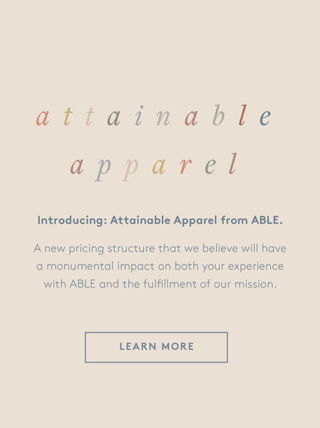 Attainable Apparel FASHIONABLE