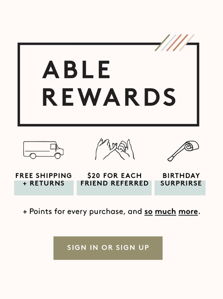 ABLE Rewards FASHIONABLE
