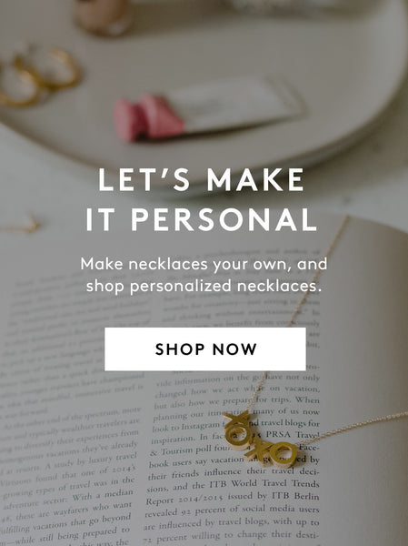 Personalized Jewelry FASHIONABLE