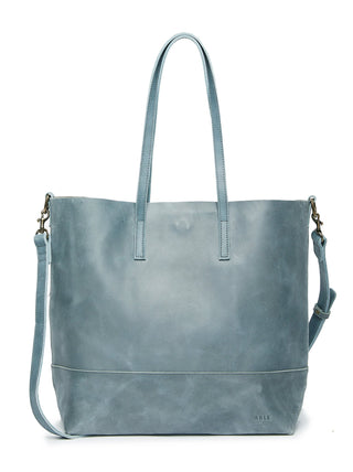 Abera Crossbody Tote - Denim Blue
