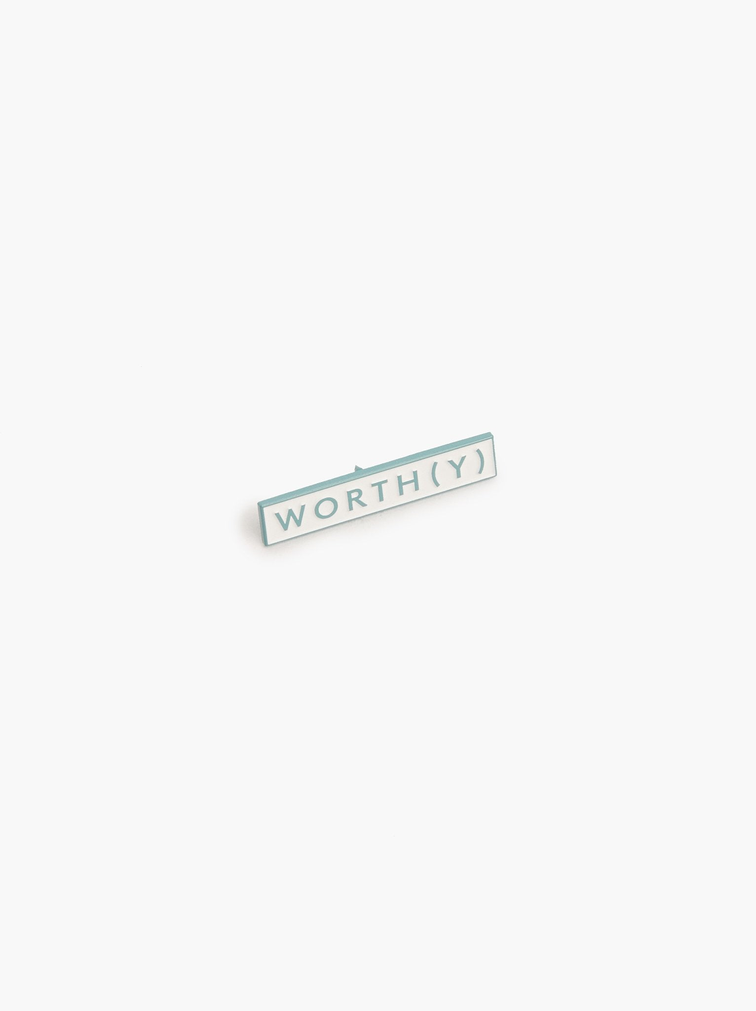 Community Collection Enamel Pin: Worthy