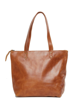 Chaltu Top Zip Rivet Tote