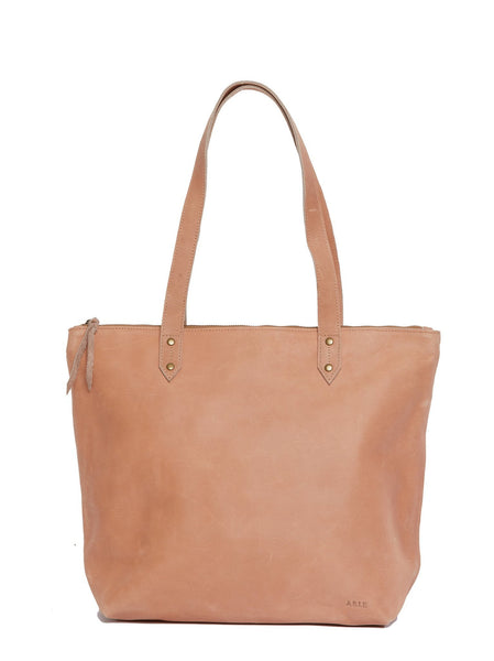 Chaltu Top Zip Rivet Tote FASHIONABLE