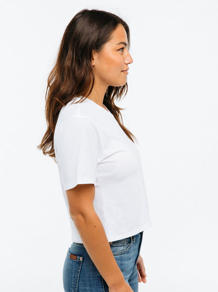 Patricia Cropped Tee Apparel