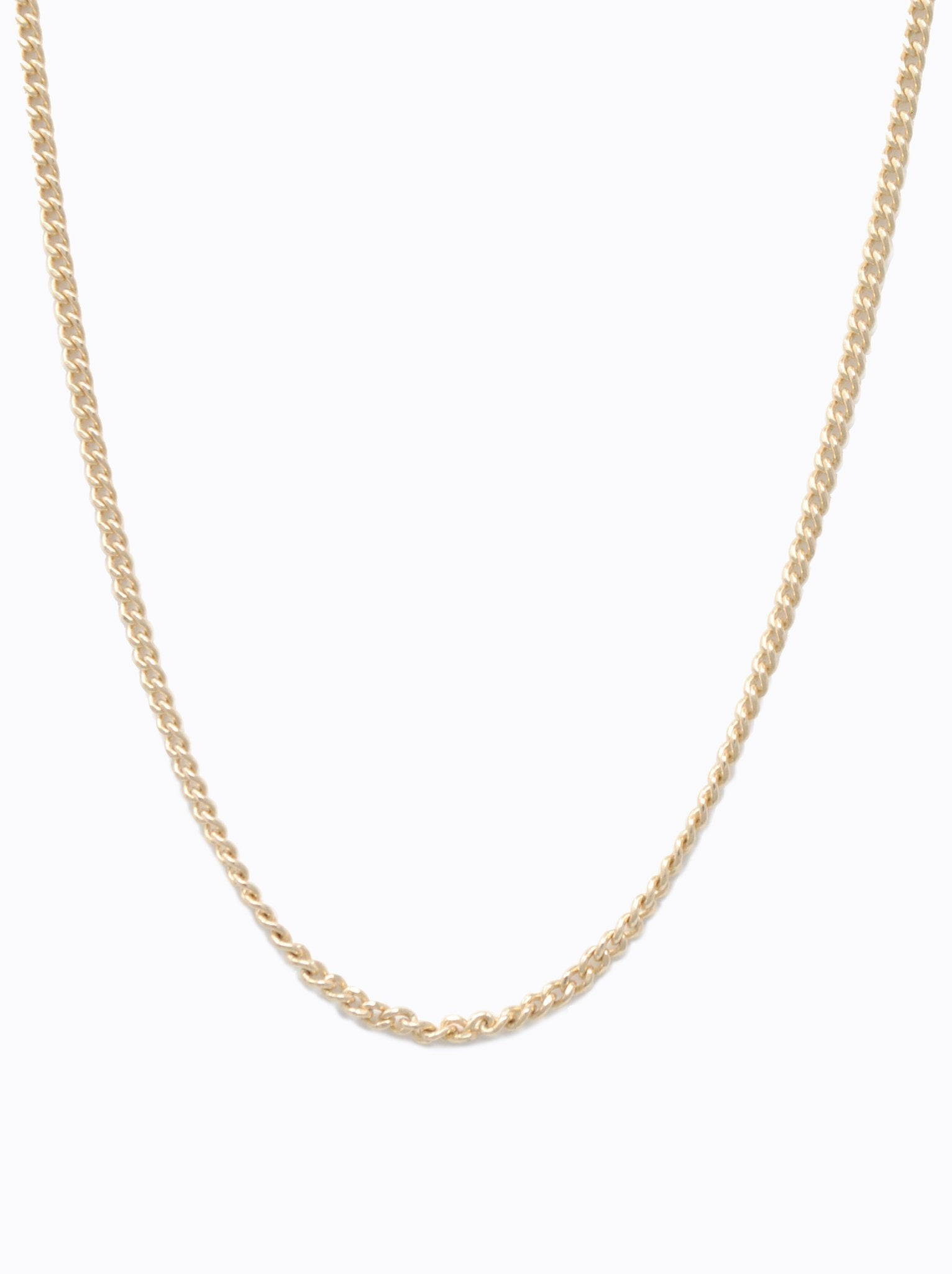 chain in gauge products sterling lengths silver cuban available necklace curb