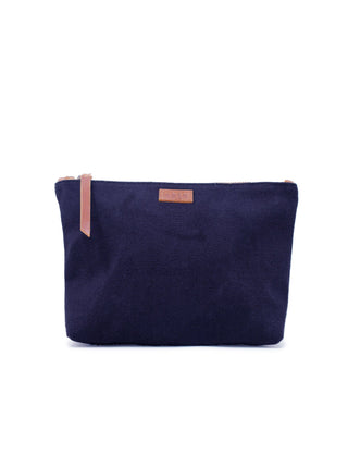 Emnet Canvas Pouch - Navy Canvas
