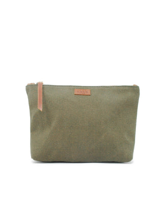 Emnet Canvas Pouch - Olive Canvas