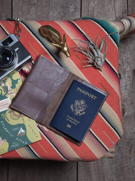Eyerusalem Passport Wallet Leather