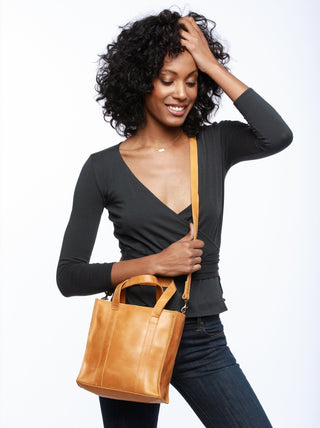 Elsabet Top Zip Crossbody FASHIONABLE Leather