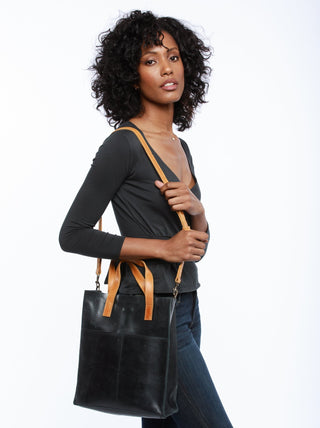 Elsabet Small Tote FASHIONABLE Leather