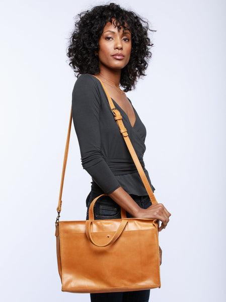 Elsabet Work Tote FASHIONABLE Leather