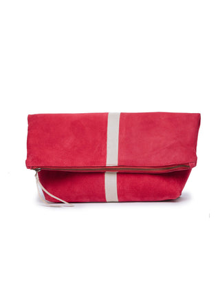 Foldover Emnet Clutch FASHIONABLE
