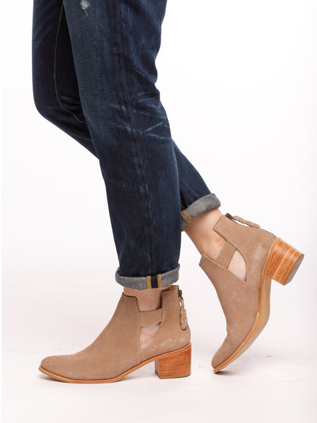 Gamboa Cut Out Bootie Shoes