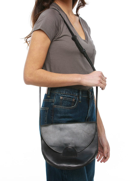 Hana Saddlebag FASHIONABLE Leather