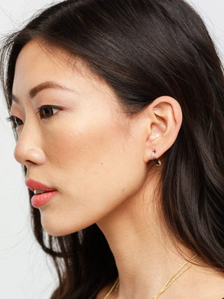 Iris Hoops FASHIONABLE Earrings