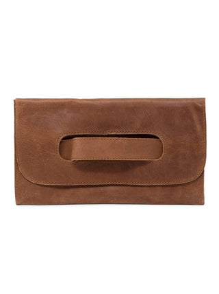 Mare Handle Clutch - Chestnut