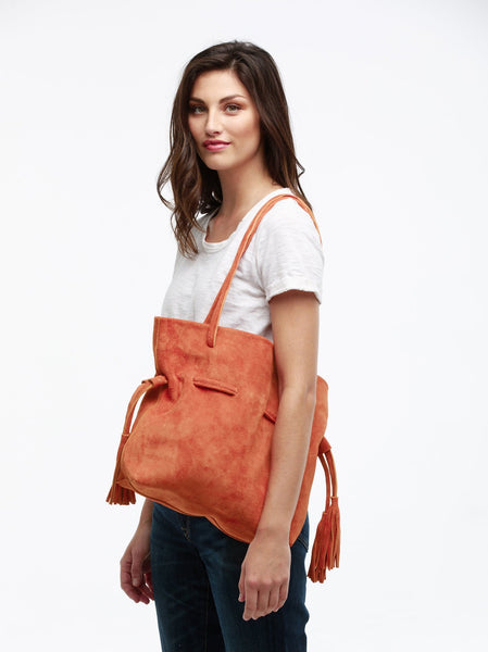 Maria Drawstring Tote FASHIONABLE Leather