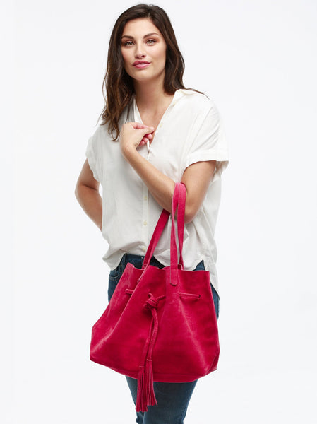 Maria Tassel Shopper FASHIONABLE Leather