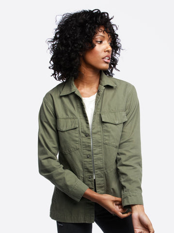 The Military Jacket - Lucia Wash