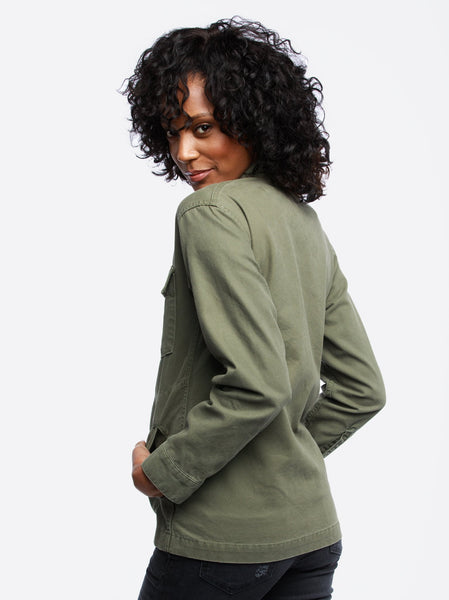 The Military Jacket - Lucia Wash Apparel