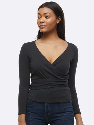 Trujilo Wrap Top FASHIONABLE Apparel