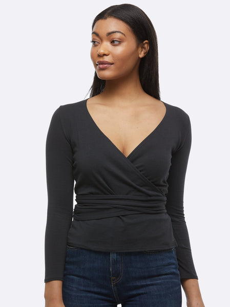 Trujilo Wrap Top Apparel