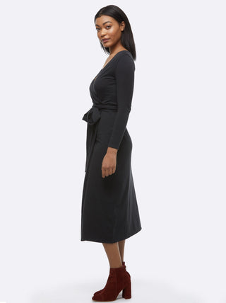 Velasquez Wrap Dress FASHIONABLE Apparel
